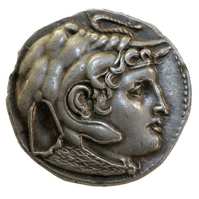 Tetradrachm Ptolemaeus coin