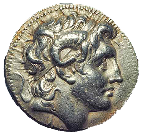 horned alexander coin copy
